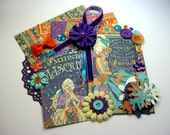 NEW Graphic 45 Midnight Masquerade Inspiration Kit, Embellishment Kit for Scrapbooking Layouts Cards Mini Albums and Paper Crafts
