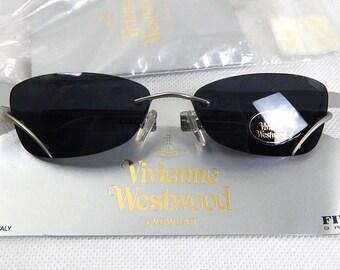 Original Vintage Deadstock Frameless Vivienne Westwood Sunglasses
