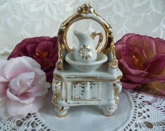 SALE   Antique Fairing - Trinket Box