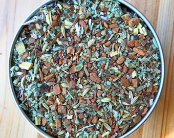 Throat Coat Tea - Herbal Tea, Organic Herbs - Soothes and strengthens the throat and vocal cords