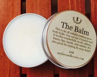 Men's Cologne Scented All Natural Multipurpose Beard Balm