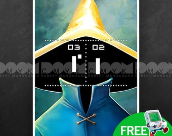 """Pong Mage 13"""" x 19"""" Poster"""