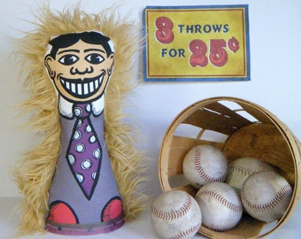 NEW COLOR! Tillie Knock Down Doll No. 112 - New-Style Boardwalk Arcade Game Circus Punk