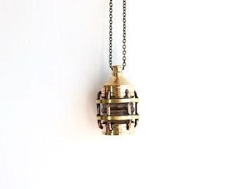 Ship Lantern Necklace