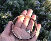 custom listing for Devon. vintage silver bangle.