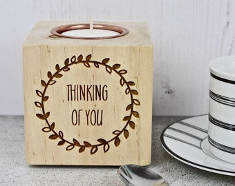 Thinking Of You Candle Holder