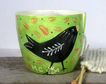 Yarn Bowl  Knitting bowl Knitter gift Mother's Day Ready to ship
