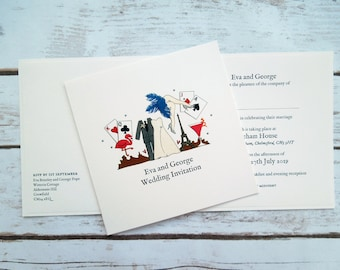 Las Vegas Wedding/Evening Invitations