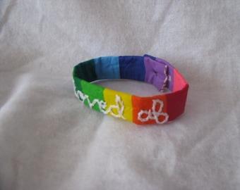 loved af Rainbow Bracelet
