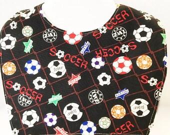 Soccer Baby, Soccer Baby Shower, Baby Bibs, Toddler Bib, Baby Shower Gift, New Baby Gift, Baby Boy Gift, Baby Toddler Bib, Baby Bib,