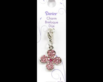Mix and Mingle Large Flower Charm with Lobster Clasp