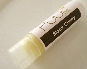 ON SALE Lip Balm Beeswax - Black Cherry - Natural Lip Balm Shea Butter Tube