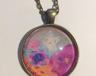 Child's Artwork Necklace