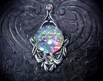 Opal Mermaid Bindi, mermaid costume, festival costume, bellydance costume, pagan, wiccan, fairy costume, festival makeup, festival accessory