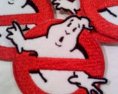 SMALL Ghostbusters Iron On Patch, 2.5""