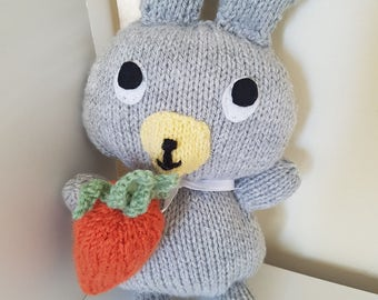 Cute Knitted Easter Bunny/Rabbit Toy!
