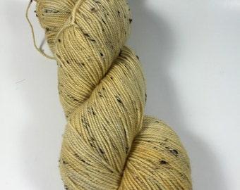 Merino Tweed Sock, hand dyed yarn, Superwash merino, color, OOAK, 100 grams, tweed yarn, multicolored yarn, sock yarn, v