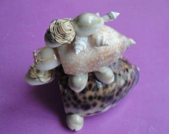 Sea Shell Seashell Turtle Pyramid Figurine Philippines