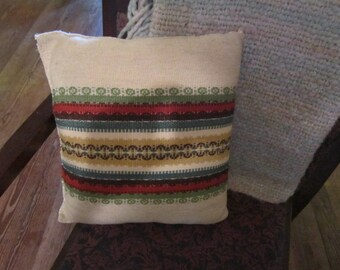 """wool norwegian woven pillow gorgeous 12"""" by 13"""""""