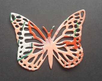 Upcycle Soda Can Butterfly Magnet