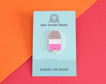 Retro Lolly Ice Enamel Pin Badge - Fab Lolly