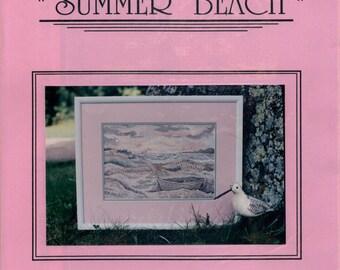 Linda Myers: Summer Beach (OOP) - a Countryside Season Cross Stitch Pattern