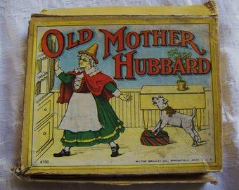 Old Mother Hubbard card game, Milton Bradley