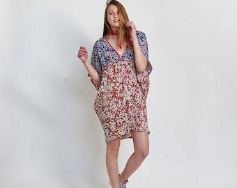 Pre Winter Sale 15% Lotus Dress, mix print