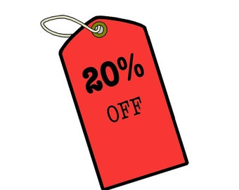 Take 20% Off Your Purchase Use Coupon Code 20PERCENT (Do Not Purchase This Listing)