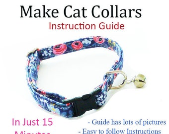 Pet Cat Collar - Instructional Guide Teaching You How to Make Cat Collars