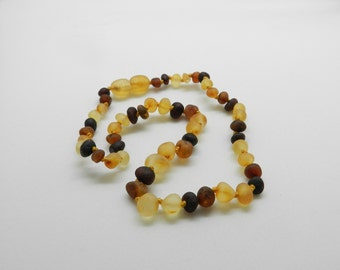Ready to ship! RAW Amber Necklace Teething Relief Baltic Amber Pain Relief Choose your color