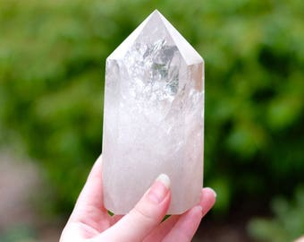 Huge Clear Quartz Point Generator