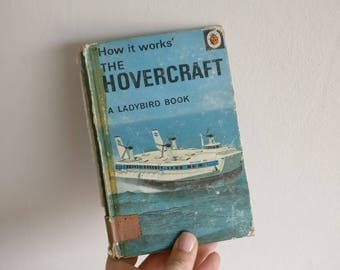 Hovercraft Notebook - Handmade from a vintage Ladybird book
