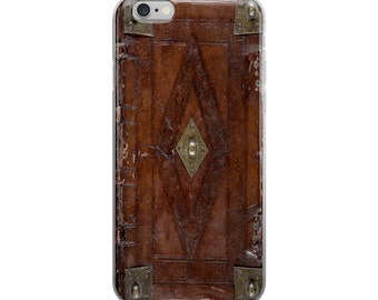 Vintage Book Binding - Steampunk iPhone Case