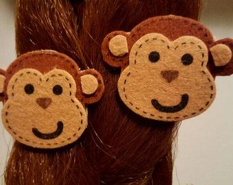 Monkey Business Barrettes