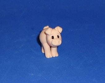 Polymer Clay Little Piggy