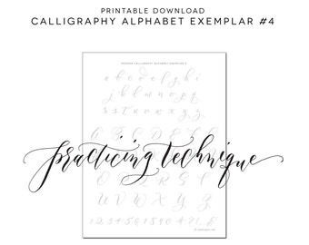 Lettering Worksheets Etsy Studio