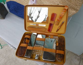 Vintage travel box from the fifties