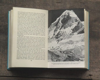 Vintage climbing adventure book Edmund Hillary High Adventure vintage 1950s book