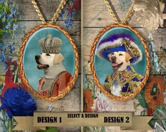 Labrador Retriever Jewelry. Labrador  Pendant or Brooch. Labrador Necklace. Labrador  Portrait. Custom Dog Jewelry.Handmade Jewelry