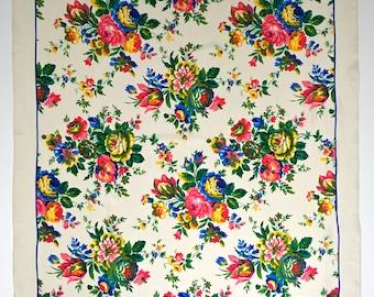 Vintage Silk Scarf Foulard, Echo Club 7