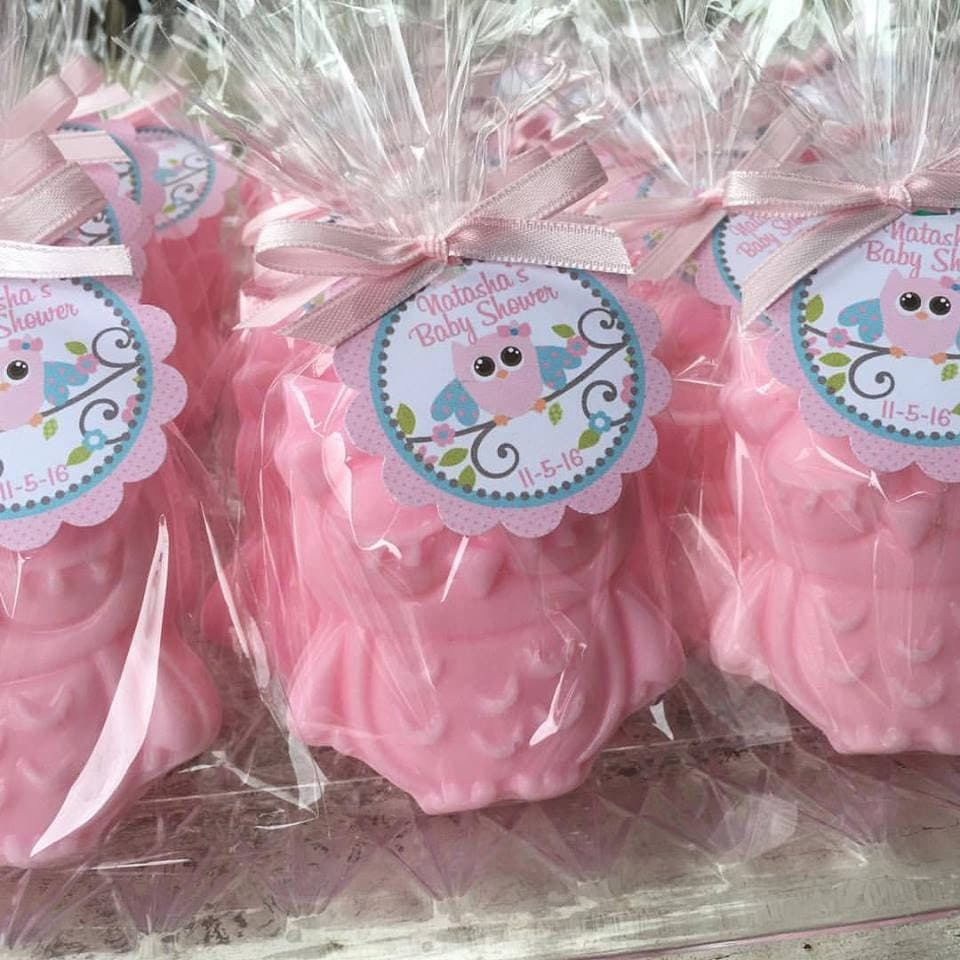 Owl Baby Shower Supplies: 25 OWL SOAPS Favors Owl Baby Shower Favor Owl Birthday
