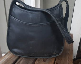 SIMPLE   ///    Large Leather COACH Bag