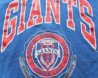 Vintage New York Giants Sweatshirt Size X-Large 1994