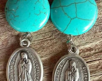 OUR LADY GUADALUPE Earrings