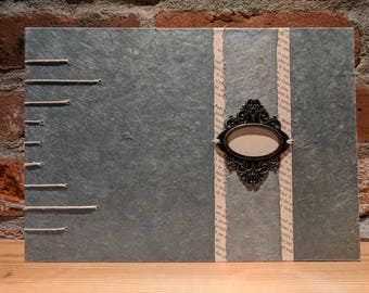 Architectural appeal - coptic bound guest or sketchbook