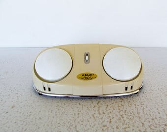 Dr. Scholls Electric Foot Massager 1960s Vintage Spa Relax