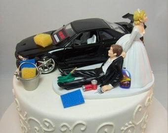 Skyline cake topper | Etsy