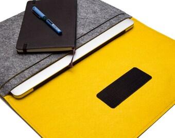 Handmade MacBook Air Case. Carrying Case. Travel Bag. Student Laptop Bags.