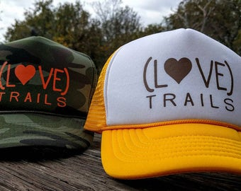 LOVE TRAILS trucker hat - more hat colors available